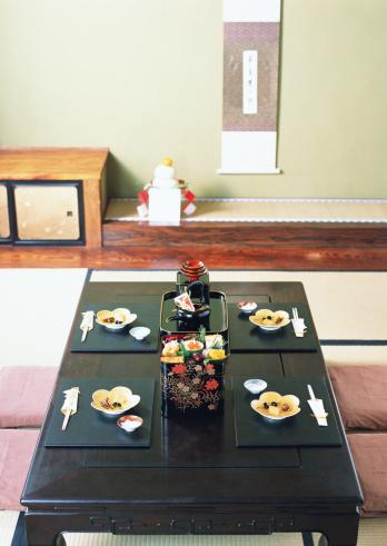Zabuton「Dining Table of New Year Holidays」:スマホ壁紙(17)