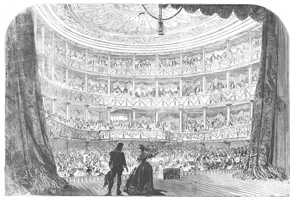 1850-1859「Performance Before Her Majesty In The Theatre Of The Palace Of St Cloud」:写真・画像(13)[壁紙.com]