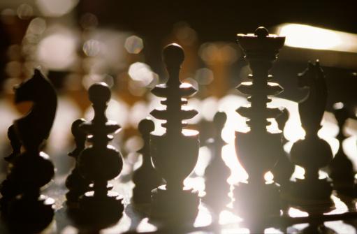 Chess「Chess pieces, silhouette」:スマホ壁紙(17)