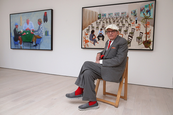 New「Artist David Hockney Reveals New Work」:写真・画像(9)[壁紙.com]