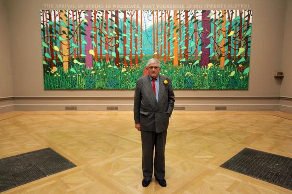 Royal Academy of Arts「Artist David Hockney At A Major Exhibition Of His Work At The Royal Academy」:写真・画像(10)[壁紙.com]