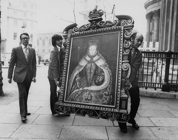 Carrying「Portrait Of Elizabeth I」:写真・画像(7)[壁紙.com]