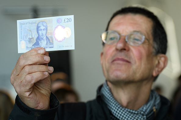 Antony Gormley「Bank Of England Governor Carney Unveils New 20 Pound Note」:写真・画像(6)[壁紙.com]
