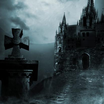 ハロウィン「旧宮殿」:スマホ壁紙(5)