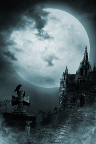Gothic Style「Old castle」:スマホ壁紙(6)