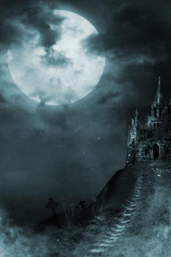 満月「旧宮殿」:スマホ壁紙(13)