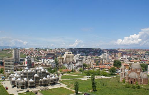 Albania「Panoramic photo of Prishtina Kosovo」:スマホ壁紙(14)