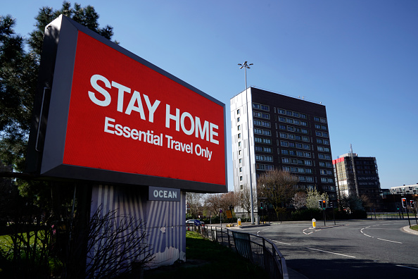 UK「UK On Lockdown Due To Coronavirus Pandemic」:写真・画像(2)[壁紙.com]