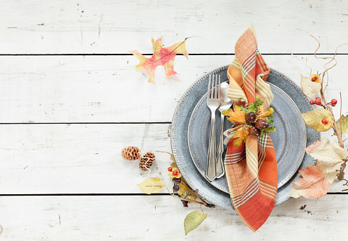 Plate「Autumn Thanksgiving Place Setting」:スマホ壁紙(11)
