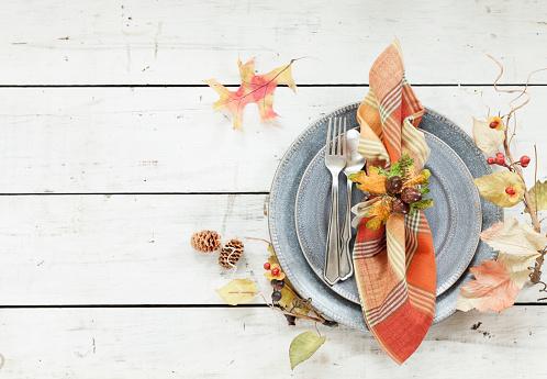 Plaid「Autumn Thanksgiving Place Setting」:スマホ壁紙(13)