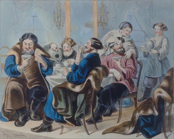 Sugar - Food「Tea and Sugar Tea drinking in a tavern, First quarter of 19th century」:写真・画像(8)[壁紙.com]
