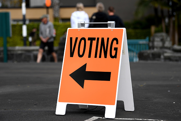 Delayed Sign「New Zealanders Head To The Polls To Vote In 2020 General Election」:写真・画像(16)[壁紙.com]