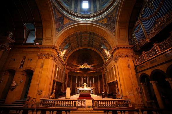 Architectural Feature「The Birmingham Oratory Prepare For The Visit Of Pope Benedict In September」:写真・画像(9)[壁紙.com]