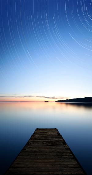 Freedom「XXXL serene starry lake」:スマホ壁紙(12)