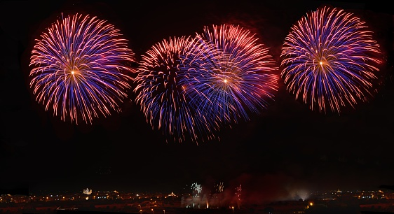 花火「Firework display, Saint Catharina feast, Malta」:スマホ壁紙(5)