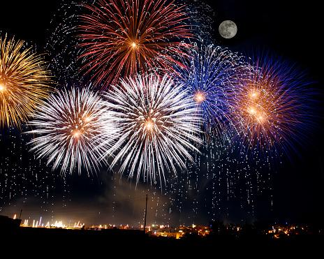 花火「Firework display, Malta」:スマホ壁紙(11)