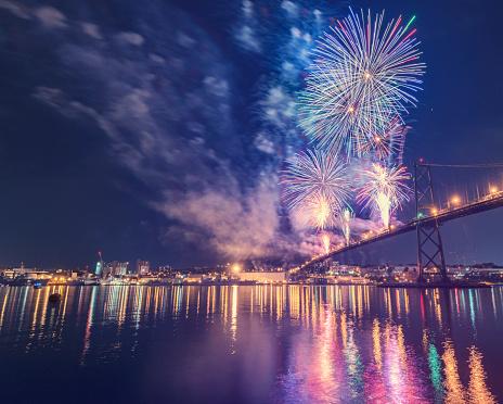 Canada Day「Firework Display」:スマホ壁紙(9)