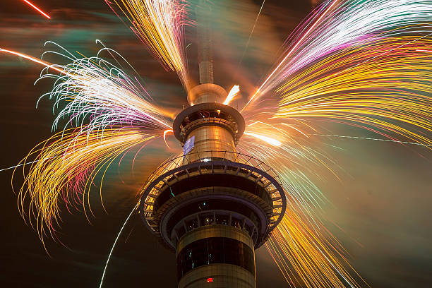 New Years Eve Fireworks In New Zealand:ニュース(壁紙.com)