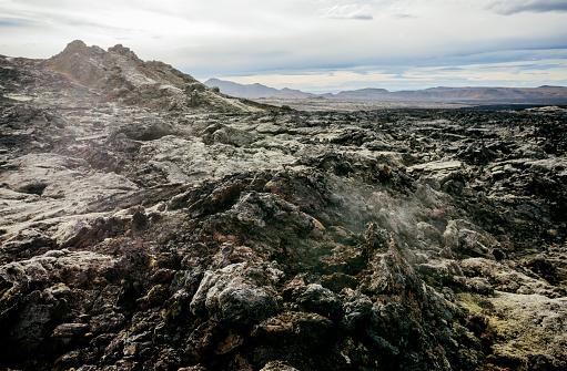 Lava「Leirhnjúkur lava field, Iceland.」:スマホ壁紙(9)