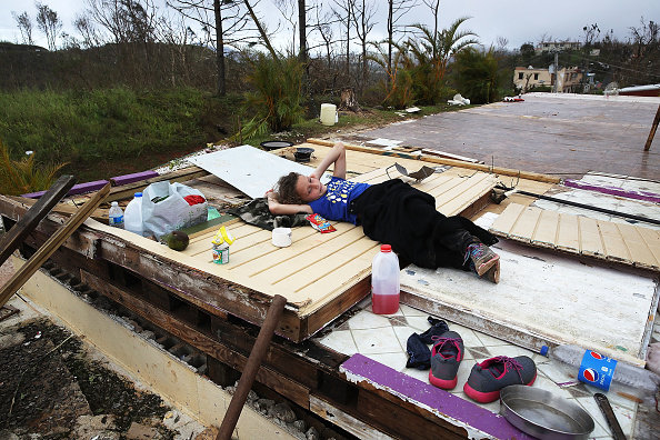 2017 Hurricane Maria「Puerto Rico Faces Extensive Damage After Hurricane Maria」:写真・画像(17)[壁紙.com]