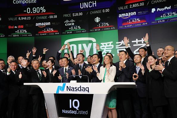 Economy「Chinese Company iQIYI Debuts On Nasdaq Exchange」:写真・画像(13)[壁紙.com]