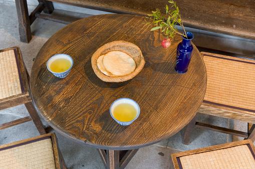 Takayama City「Rice Cakes and Green Tea」:スマホ壁紙(19)