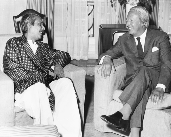 Bangladesh「Sheikh Mujibur Rahman And Edward Heath」:写真・画像(6)[壁紙.com]