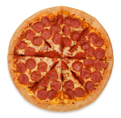 不健康な食事「ペパロニピザにホワイト」:スマホ壁紙(11)