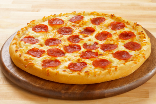 Fast Food「Pepperoni Pizza」:スマホ壁紙(16)