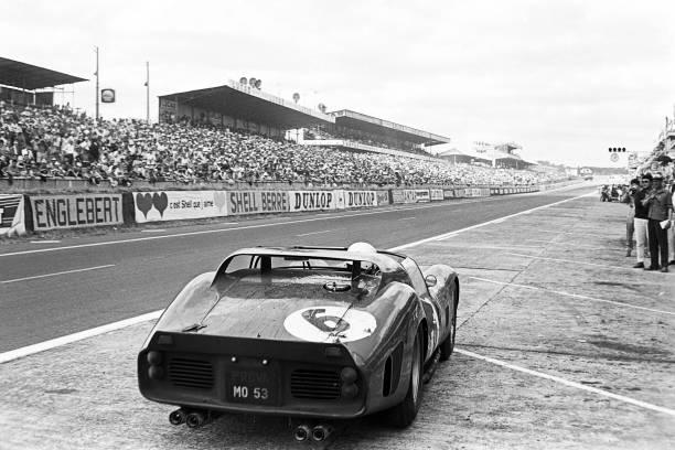 Light Micrograph「Phil Hill, 24 Hours Of Le Mans」:写真・画像(12)[壁紙.com]