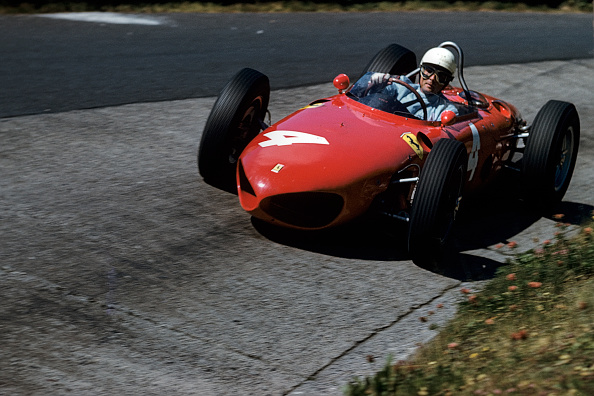 Ferrari「Phil Hill, Grand Prix Of Germany」:写真・画像(19)[壁紙.com]
