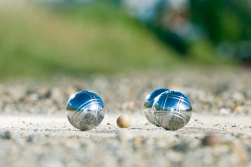 Boule「Leisure; Petanque balls close to the goal」:スマホ壁紙(2)
