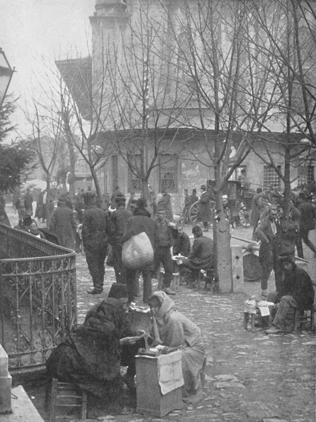 City Life「Public Letter-Writers In A Constantinople Street」:写真・画像(14)[壁紙.com]