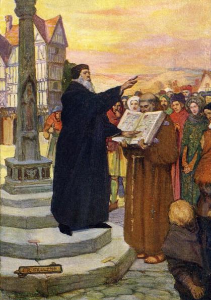 Preacher「John Wycliffe preaching」:写真・画像(18)[壁紙.com]