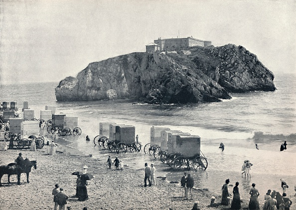 Water's Edge「Tenby - St. Catherines Rock And Fort, 1」:写真・画像(17)[壁紙.com]