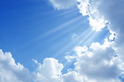 Sunbeam「clean sky and sun light」:スマホ壁紙(5)