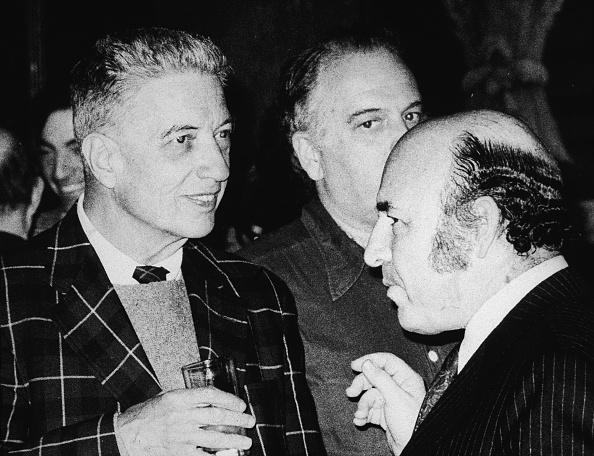 Drinking Glass「John Hammond & George Wein」:写真・画像(1)[壁紙.com]
