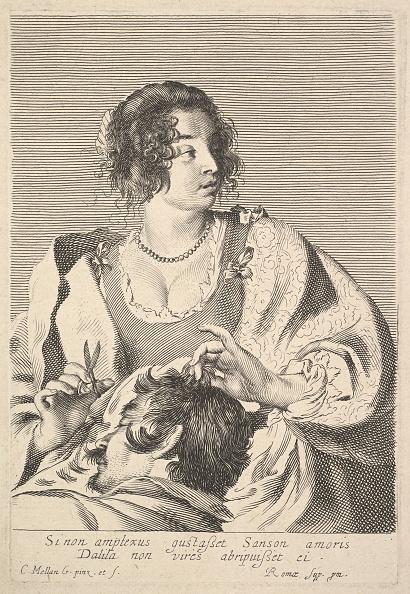 Cutting「Delilah Cutting Samsons Hair Creator: Claude Mellan」:写真・画像(8)[壁紙.com]