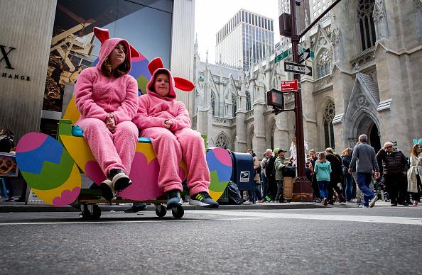 イースター「New York Holds Annual Easter Day Parade On 5th Avenue」:写真・画像(7)[壁紙.com]
