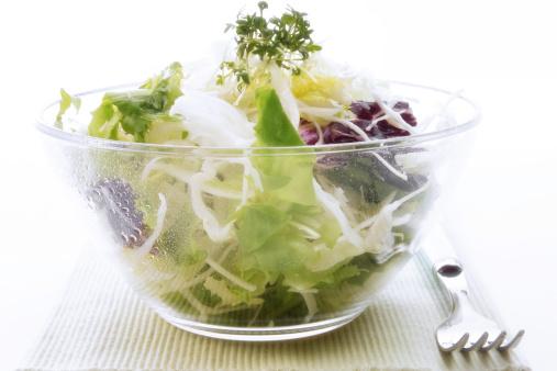 Salad Bowl「Green salad with cress」:スマホ壁紙(3)