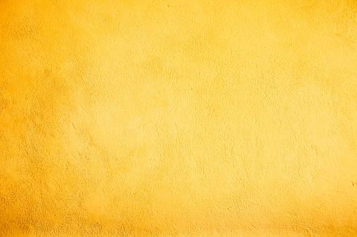 黄色「色の壁の背景テクスチャ」:スマホ壁紙(7)