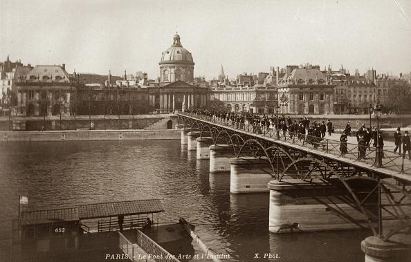 1900-1909「Pont Des Arts」:写真・画像(10)[壁紙.com]