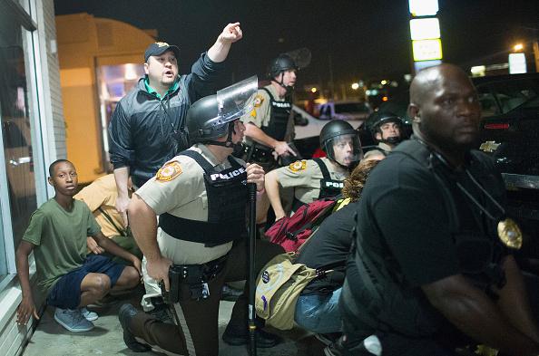 2014-15 Ferguson Unrest「Ferguson, Missouri Marks One-Year Anniversary Of The Death Of Michael Brown」:写真・画像(11)[壁紙.com]