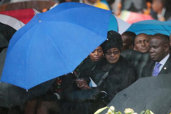 Christopher Furlong「The Official Memorial Service For Nelson Mandela Is Held In Johannesburg」:写真・画像(6)[壁紙.com]