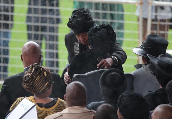 Christopher Furlong「The Official Memorial Service For Nelson Mandela Is Held In Johannesburg」:写真・画像(2)[壁紙.com]