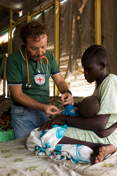 Charity and Relief Work「Red Cross Hospital In South Sudan」:写真・画像(5)[壁紙.com]