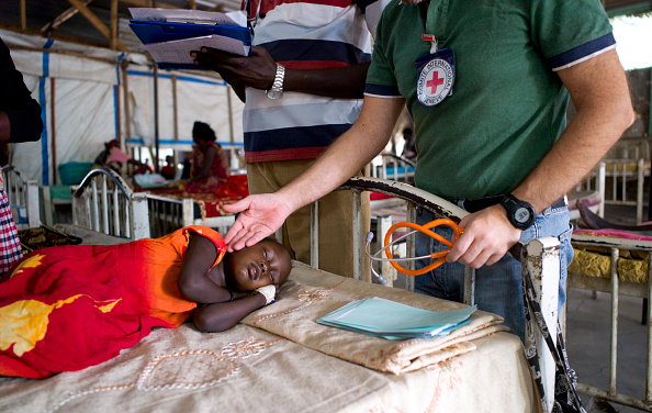 Caucasian Ethnicity「Red Cross Hospital In South Sudan」:写真・画像(18)[壁紙.com]