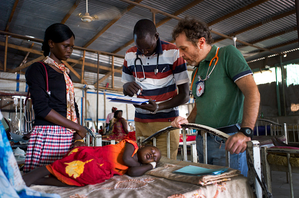 Caucasian Ethnicity「Red Cross Hospital In South Sudan」:写真・画像(11)[壁紙.com]