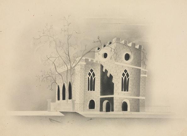 Pencil「A Gothic Church By Moonlight」:写真・画像(12)[壁紙.com]