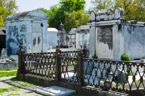 Gulf Coast States「Lafayette cemetery in New Orleans」:スマホ壁紙(0)